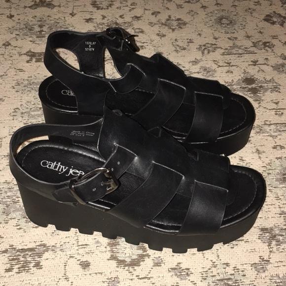 Cathy Jean Shoes | Platform Sandals